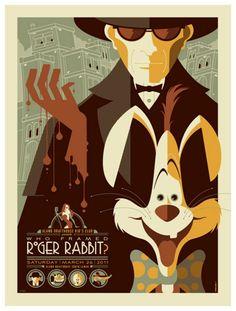 Неописуемые ретро-постеры от Тома Волена