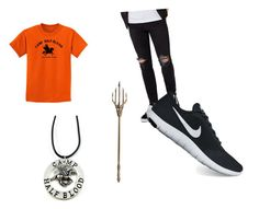"""""""Percy Jackson Athletic"""" by rebekah-fant on Polyvore featuring Topman, NIKE, men's fashion and menswear"""