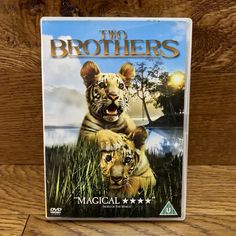 Two Brothers (DVD, for sale online Guy Pearce, Pet Tiger, Two Brothers, Tigers, Kids, Animals, Ebay, Children, Animales