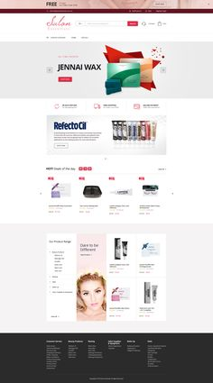 The simplicity of this design's home page is really alluring. Ecommerce Website Design, Crayons, House Design, Health, Health Care, Colouring Pencils, Architecture Design, House Plans, Home Design