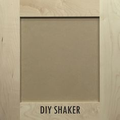 DIY from Semihandmade DIY Shaker style cabinets from @semihandmade