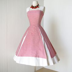 vintage 1950's dress fabulous SUZY PERETTE