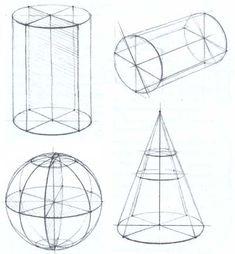 Рисование тел вращения