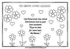 Coloriage Anniversaire Mamie 60 Ans.Fete Des Meres Comptines