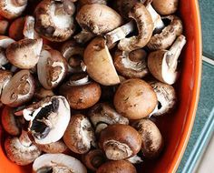 Garlic and Butter Roasted Mushrooms – Honest Cooking