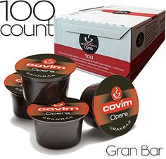 Caffe COVIM Opera  75 gr Espresso Coffee Capsules  Compatible with LAVAZZA BLUE Machines  100 Count GranBar 100 Capsules * Be sure to check out this awesome product.