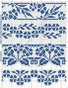 Cross Stitch Letters, Cross Stitch Tree, Cross Stitch Borders, Cross Stitch Designs, Cross Stitching, Fair Isle Knitting Patterns, Knitting Charts, Crochet Patterns, Fair Isle Chart