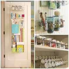 This is something that I want to do for my sewing room... little things make me happy
