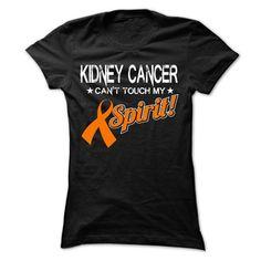 Spirit - Kidney Cancer - #grandparent gift #cool gift. LIMITED TIME => https://www.sunfrog.com/LifeStyle/Spirit--Kidney-Cancer-Ladies.html?68278