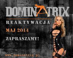 Dominatrix.pl - Reaktywacja. Sex Shop online zaprasza!