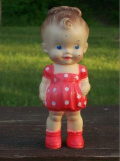 Vintage Sun Rubber Ruth E Newton doll by Vintagetoyfun on Etsy, $35.00