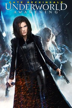 Underworld Awakening ~ Kate Beckingsdale in skintight black leather & latex? Yes, please :)
