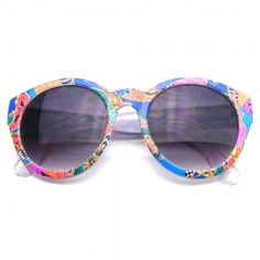 Indie Retro Fashion Geometric Pattern Hipster Round Sunglasses. Tag your photos using#EERoundGeoon ourInstagram!