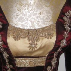 """Beautiful embroidery on the dress of Anne of Cleves from """"The Tudors"""""""