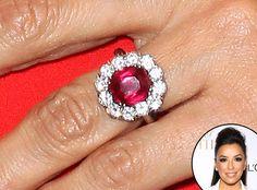 Eva Longoria: Truly Unique Celebrity Engagement Rings