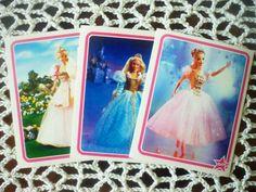 Barbie vintage Panini Stickers 1997 Set of 3 by CuteVintageRu