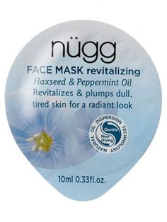 This single-serve Nugg mask, a Best of Beauty winner, hydrates, feels cool and tingly, and smells minty....