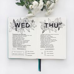 "1,219 mentions J'aime, 18 commentaires - Federica • Bullet Journal (@feebujo) sur Instagram : ""Last days! What do you think about this layout?  Did you see my last YouTube video? You can find…"""