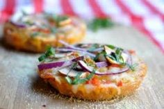 Healthy Bagel Pizza. Natural Ovens is just up the road in manitowoc