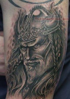 Viking Warriors Tattoo