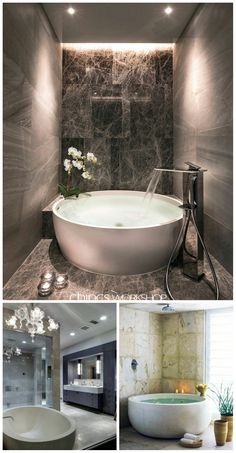 Luxury Master Bathroom Ideas Decor is totally important for your home. Whether you pick the Bathroom Ideas Apartment Design or Luxury Bathroom Master Baths Walk In Shower, or maybe Luxury Bathroom Master Baths Walk In Shower, you will make the best Luxury Bathroom Master Baths Paint Colors for your own life.  #LuxuryMasterBathroomIdeasDecor #LuxuryMasterBathroomIdeasDecor #LuxuryBathroomIdeas #LuxuryMasterBathroomIdeas #LuxuryMasterBathroomIdeasDecor #LuxuryMasterBathroomIdeasDecor… Luxury Master Bathrooms, Master Baths, Dream Bathrooms, Small Bathroom Inspiration, Bedroom Inspiration, Bathroom Ideas, Interior Garden, Interior Design, Bath Paint