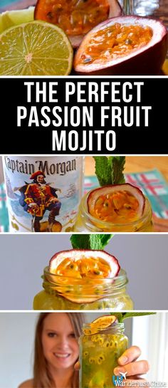 The Perfect Passion Fruit Mojito. A recipe for the perfect passion fruit mojito plus I travel to find out the origins of the classic Cuban cocktail in Havana.https://www.wanderlustchloe.com/passion-fruit-mojito/