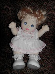 The My child doll was by far my favorite! I want one :)
