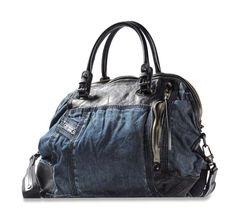 Collezione borse Diesel per la Primavera Estate 2013 - Handbag in pelle e jeans Diesel
