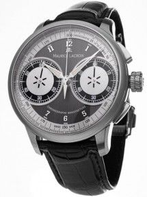 Maurice Lacroix Masterpiece Le Chronograph Wrist Watch for Men for sale online Luxury Watches For Men, Breitling, Cool Watches, Chronograph, Mai, Accessories