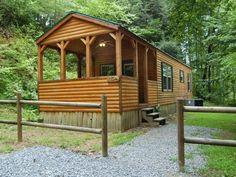 log cabin trailer!