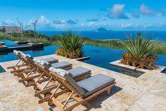 The Pool at Belle Mont Farm on Kittitian Hill  #Caribbean #stkitts #travel