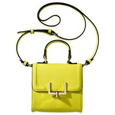 Merona® Mini Crossbody Handbag - Neon Yellow