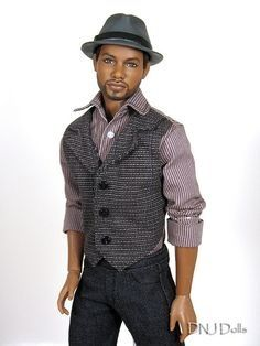 Male black barbie