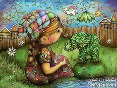 حكايات سرياليه للاطفال فى لوحات karin taylor