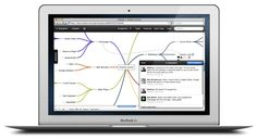 Subtask: www.subtask.com Use Subtask to structure your projects graphically as a mind map and organize them directly within the map: discuss tasks, attach files, assign tasks to someone on your team, and much more. This way, you can immediately see what's going on in your project and what is related to what and how.