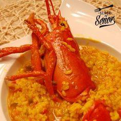 ¿Os gusta el arroz con bogavante? #Recetasdenavidad ¿TE HA GUSTADO? Comparte para que tus amigos conozcan mis recetas. #FELIZ NAVIDAD