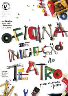 my name is andré santos. i'm a graphic design student in esad, escola superior de artes e design, matosinhos. i am from porto, portugal. i like to cr. Typographic Poster, Typographic Design, Type Posters, Graphic Design Posters, Typography Inspiration, Graphic Design Inspiration, Typography Prints, Lettering, Tool Poster