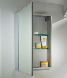 Tavistock Balance Single Mirror Door Cabinet - Cabinets at Bathshop321