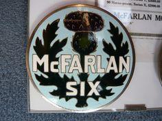 McFarlan radiator emblem badge vintage