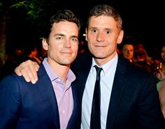 WOWWW!! -- Matt Bomer Reveals He Married Partner Simon Halls Three Years Ago