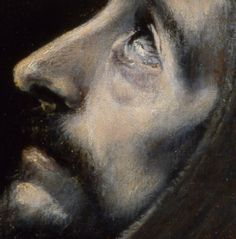 El Greco - Detail from portraits of Saints