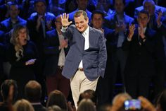 Senator Ted Cruz (R-TX) walks onto the stage to participate in the North Texas Presidential Forum at Prestonwood Baptist Church Oct. 18, 2015 in Plano, Texas. (Photo by Stewart F. House/Getty)