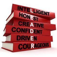 Leader - Intelligent, Honest, Creative, Confident, Drive, Courageous
