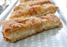 Pillsbury Crescent Rolls, Cream Cheese, Cinnamon, Sugar– amazing!!