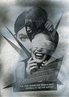 """collage """"NO ARTIST"""""""