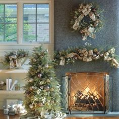 Holiday Frost Greenery Collection, I love this ensemble!