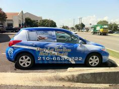 Yes, we have a wrapped car to let folks know about the hearing aid services in San Antonio TX area.  San Antonio Hearing Centers 8003 Broadway St San Antonio, TX 78209 (210) 428-6900 http://www.sahearingcenters.com