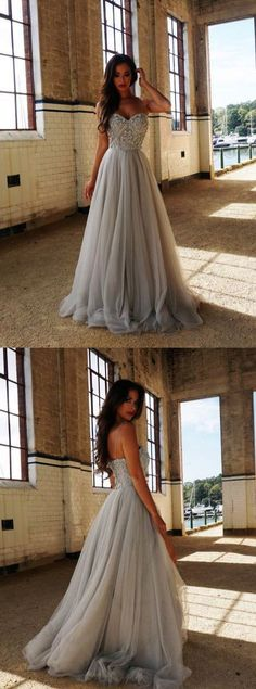 Prom Dress Princess, Sweetheart A-line Tulle Prom Dresses,spaghetti straps prom dress , long prom dress Shop ball gown prom dresses and gowns and become a princess on prom night. prom ball gowns in every size, from juniors to plus size. Straps Prom Dresses, A Line Prom Dresses, Tulle Prom Dress, Ball Dresses, Ball Gowns, Bridesmaid Dresses, Party Dress, Long Dresses, Grey Prom Dress
