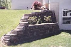 Yard Wall Design Decks 37 New Ideas Retaining Wall Design, Building A Retaining Wall, Retaining Walls, Landscaping Supplies, Landscaping Plants, Landscaping Ideas, Montana Landscape, Landscape Materials, Curb Appeal