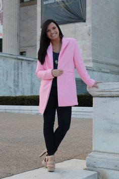 Check out my article featured on the #CollegeFashionista homepage today and share in my love for all things pink! Don't forget to give it a #RAD to show how much you loved it!